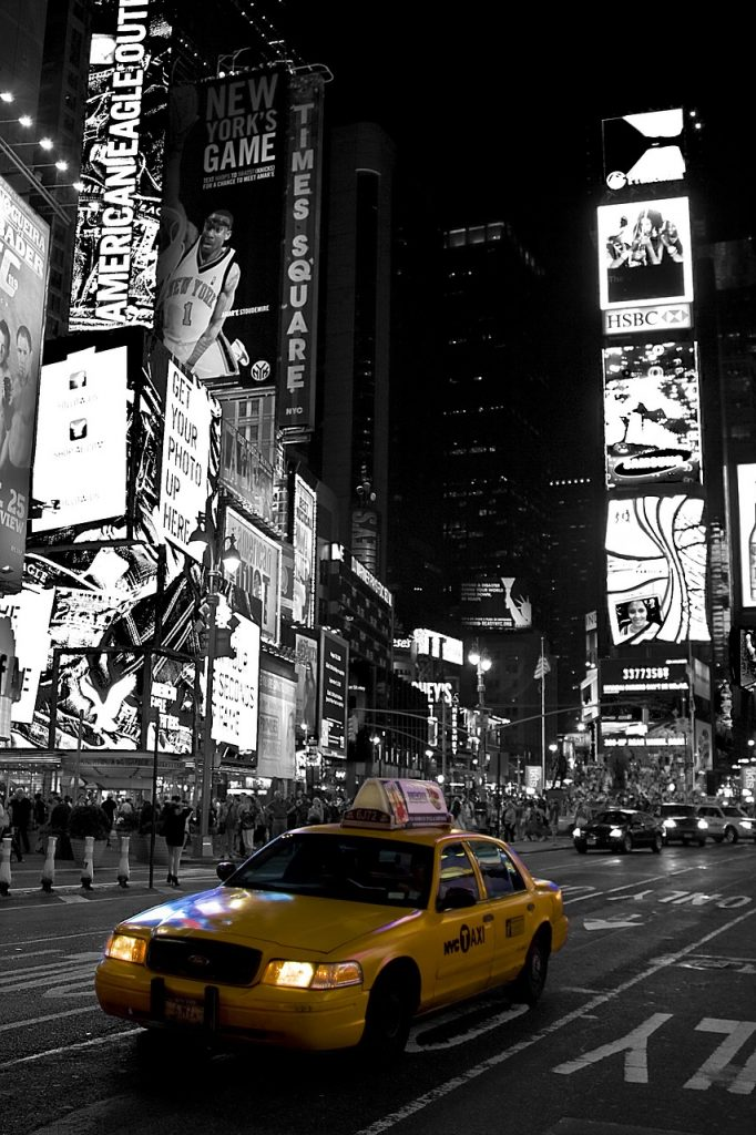 New York Taxi (pixabay free photo)
